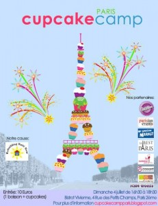 Affiche cupcake camp Paris