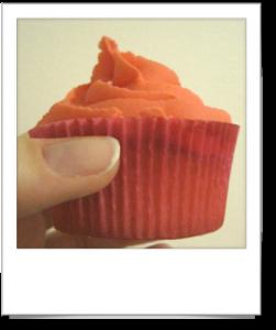 Cupcake à la fraise Tagada