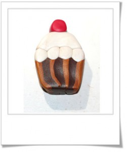étape 7 cane cupcake