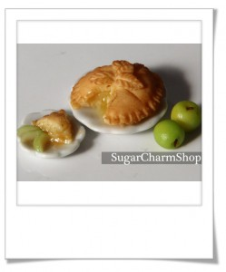 Apple pie en pâte polymère