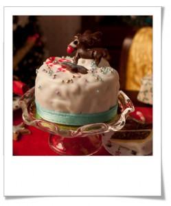 Table de Noël miniature
