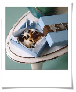 Gâteaux de noël miniatures en pâte fimo