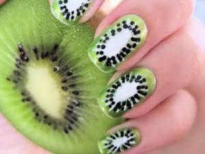 Nail Art Kiwi