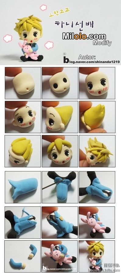 modelage personnage fimo