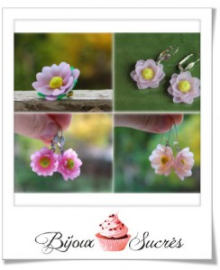 diy fleurs fimo
