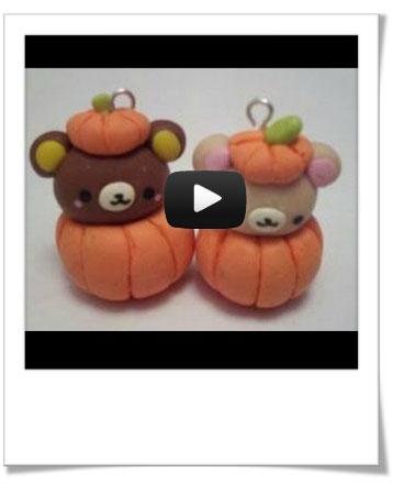 Tuto vidéo  Rilakkuma halloween \u2013 Bijoux Sucrés