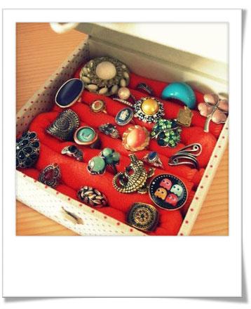 Boîte de rangement pour bagues - Bijoux Sucrés