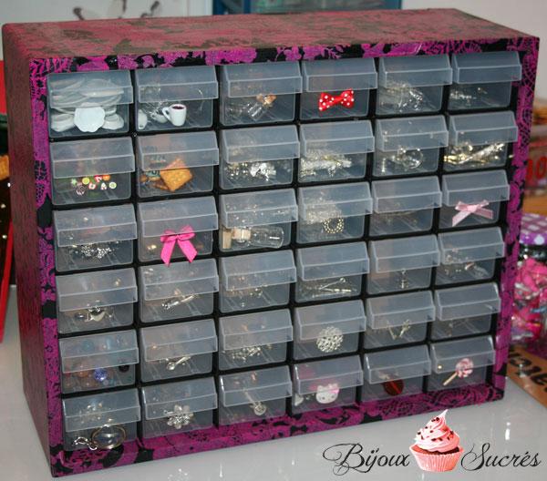 diy customiser une boite de rangement avec d copatch bijoux sucr s. Black Bedroom Furniture Sets. Home Design Ideas