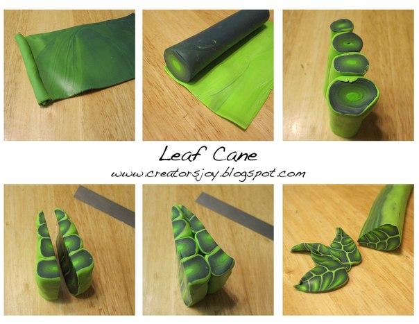 tuto fimo cane feuilles bijoux sucr s. Black Bedroom Furniture Sets. Home Design Ideas
