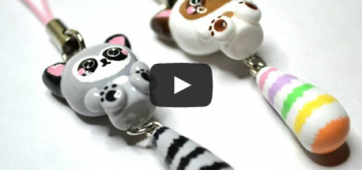 Creation Animaux Fimo Bijoux Sucres